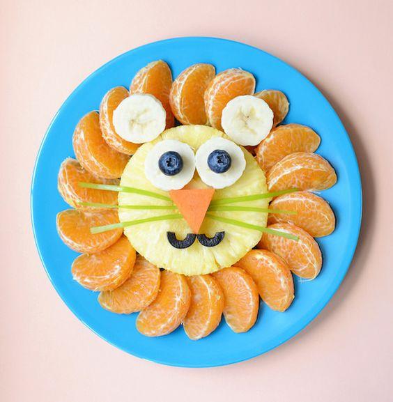 Leon come naranjas, da fruta a tus hijos en lugar de dulces y evita las caries