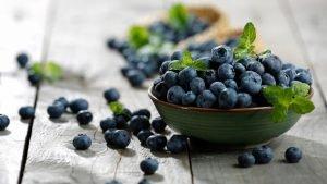arandanos alimentos que favorecen nuestra higiene bucal
